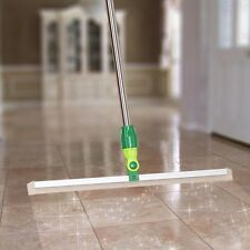 Silicon Floor Squeegee Wiper Stainless Steel Telescopic Pole Glass Cleaning Tool