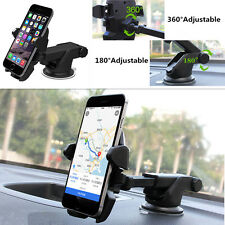360°Adjustable One Touch Car Windshield Suction Cup Mount Phone GPS Stand Holder
