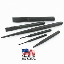 Craftsman Center Pin Punch Chisel Alignment Tool Set USA, 6 pcs - (43121)