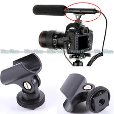 DSLR DV Camera Light, Microphone,  Electric Torch Holder Mic Stand For Hot Shoe