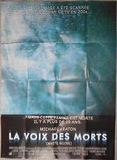 Affiche LA VOIX DES MORTS White Noise MICHAEL KEATON Kara Unger 120x160cm