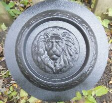 concrete plaster mold lion mini birdbath plastic mould
