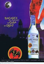 PUBLICITE ADVERTISING 115 2001 Bacardi rum  casa Fundada