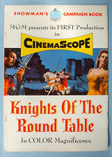 1954 Knights of the Round Table MGM Movie Pressbook Ava Gardner Robert Taylor