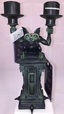 "NEW Disney Haunted Mansion GARGOYLE CANDELABRA CANDLE HOLDER 10 1/4"" T Sold Out"