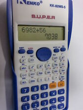 NAVI KENKO SCIENTIFIC CALCULATOR UNIVERSITIES,COLLEGE, 2LINE DISPLAY OFFICE NEW