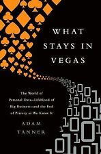 What Stays in Vegas: The World of Personal DataLifeblood of Big Businessand the
