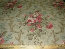 """~13 YDS~RALPH LAUREN~""""COTTAGE ROSE TEA ROSE"""" COTTON UPHOLSTERY FABRIC FOR LESS~"""
