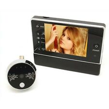 3.5'' Video Bell Peephole Phone Doorbell Intercom IR Camera night vision