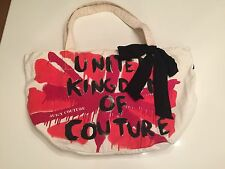 White Juicy Couture Distressed Bag