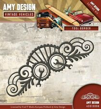 Amy design cutting & embossing die outil border ADD10096