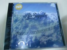 AIR SUPPLY ACROSS THE CONCRETE SKY ORIGINAL CD SEALED IMPORT