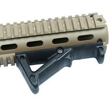 Black PTS Tactical Angled Foregrip Hand Guard Front Grip for Picatinny Rail