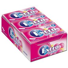 12 Packs x Wrigley´s Extra for Kids Bubble Gum (sugarfree)