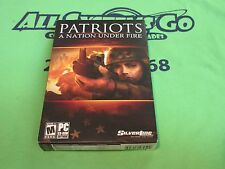 Patriots A Nation Under Fire - PC CDRom Game - Box