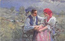 BT2069 Les costumes nationaux  types couple folklore   czech republic