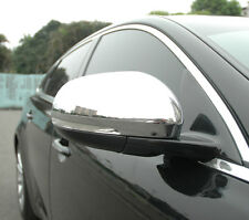 Jaguar XJ X351 Chrome Door/Wing Mirror Covers Pair 2010 onwards