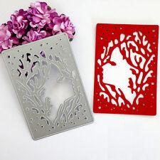 Face Shape Die Cutting Dies Stencil DIY Scrapbooking Album Card Paper Embossing