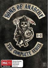 Sons Of Anarchy : Season 1-7 (DVD, 2015, 30-Disc Set) Region 4