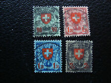 SUISSE - timbre yvert et tellier n° 208 a 211 obl (A20) stamp switzerland (A)