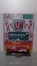 1/64 M2 MACHINES AUTO-DRIVERS 1971 PLYMOUTH HEMI CUDA RED & WHITE B47