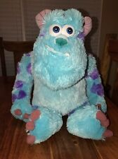 """Disney Store Sully Exclusive Monsters Inc Sulley stuffed toy plush 16"""" (BB)"""