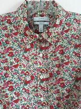 $150 J.CREW Perfect Shirt In Liberty Art 'Claire-Aude' Floral Style 25536 Size 2