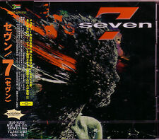 SEVEN 7 Seven + 1 Japan CD 1st 2014 British Melodic Rock AOR Touch One Direction