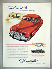 Oldsmobile PRINT AD - 1946 ~~ Hydra-Matic Drive, no clutch pedal