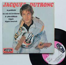 """Vinyle 45T Jacques Dutronc   """"La publicité"""""""