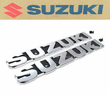 New Genuine Suzuki Fuel Tank Emblem & Screw Set GT185 GT250 GT380 GT550 #G65