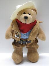 US POSTAL SERVICE John Wayne Cowboy stuffed teddy bear MINT