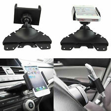 360° Universal Car CD Player Slot Mount Cradle Holder For Phone GPS Braw