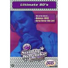 Sunfly Karaoke DVD Ultimate 80's - Full Video / Blue Options All Region & Player