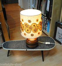 70er Designerlampe Stehlampe Tischleuchte Keramikfuss mid century Lamp 70er
