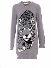 Stella mc cartney robe taille 42 en Gris Animal Motif & LAINE-CACHEMIRE a151