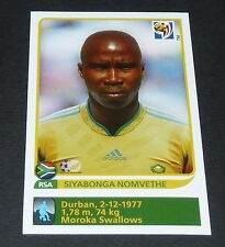 46 NOMVETHE EXTRA-STICKER SOUTH AFRICA  PANINI FOOTBALL FIFA WORLD CUP 2010
