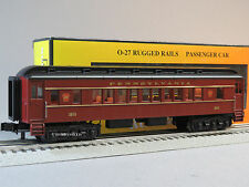 MTH RAIL KING  PRR 0-27 MADISON COACH CAR add on for 30-4227-1 o gauge 33-6244
