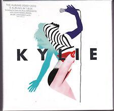COFFRET DE 5 CD CARTONNES KYLIE MINOGUE THE ALBUMS 2000-2010  TBE