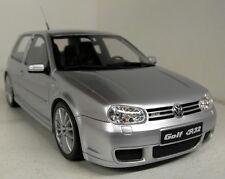Otto 1/18 Scale OT646 VW Volkswagen Golf MkIV R32 Silver Resin cast Model Car