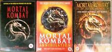 MORTAL KOMBAT TRILOGY [1,2,3] Annihilation*Conquest Martial Arts Action DVD *EXC