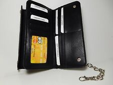 True Gear Black Leather Biker/Deliveryman Chain Wallet-Factory Seconds #1-239