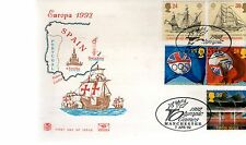 First Day Cover - 1992 EUROPA - Unaddressed - Manchester Olympic Games