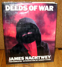 James Nachtwey Deeds of War Photographs 1981 1988 Northern Ireland Lebanon HC DJ