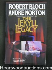 The Jekyll Legacy by Robert Bloch (Signed)(Inscribed)- High Grade