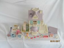 Vintage Fisher Price Precious Places cottage/nursery  & accessories e
