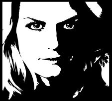 Once Upon A Time - Emma Swan OUAT Vinyl Decal - for car, laptop, whatever!