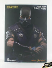 IN STOCK 1/6 Mortal Kombat Sub-Zero 2.0 Figure Toys Hot Scorpion Kung Brother