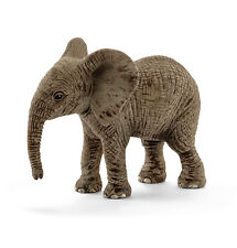 Schleich 14763 African Elephant Calf Baby Animal Model Toy Figurine 2016 - NIP