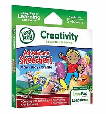 LeapFrog LeapPad Game Adventure Sketchers! Draw, Play, Create (LeapsterGS) - NEW